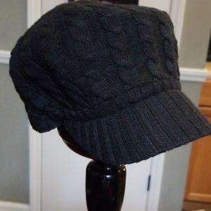 Stylish black hat
